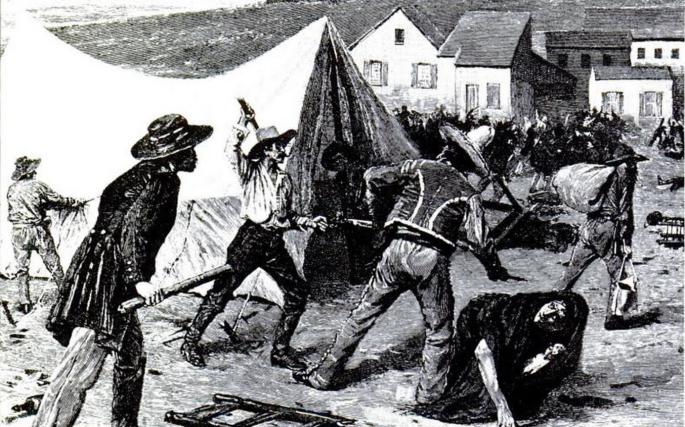 California riots