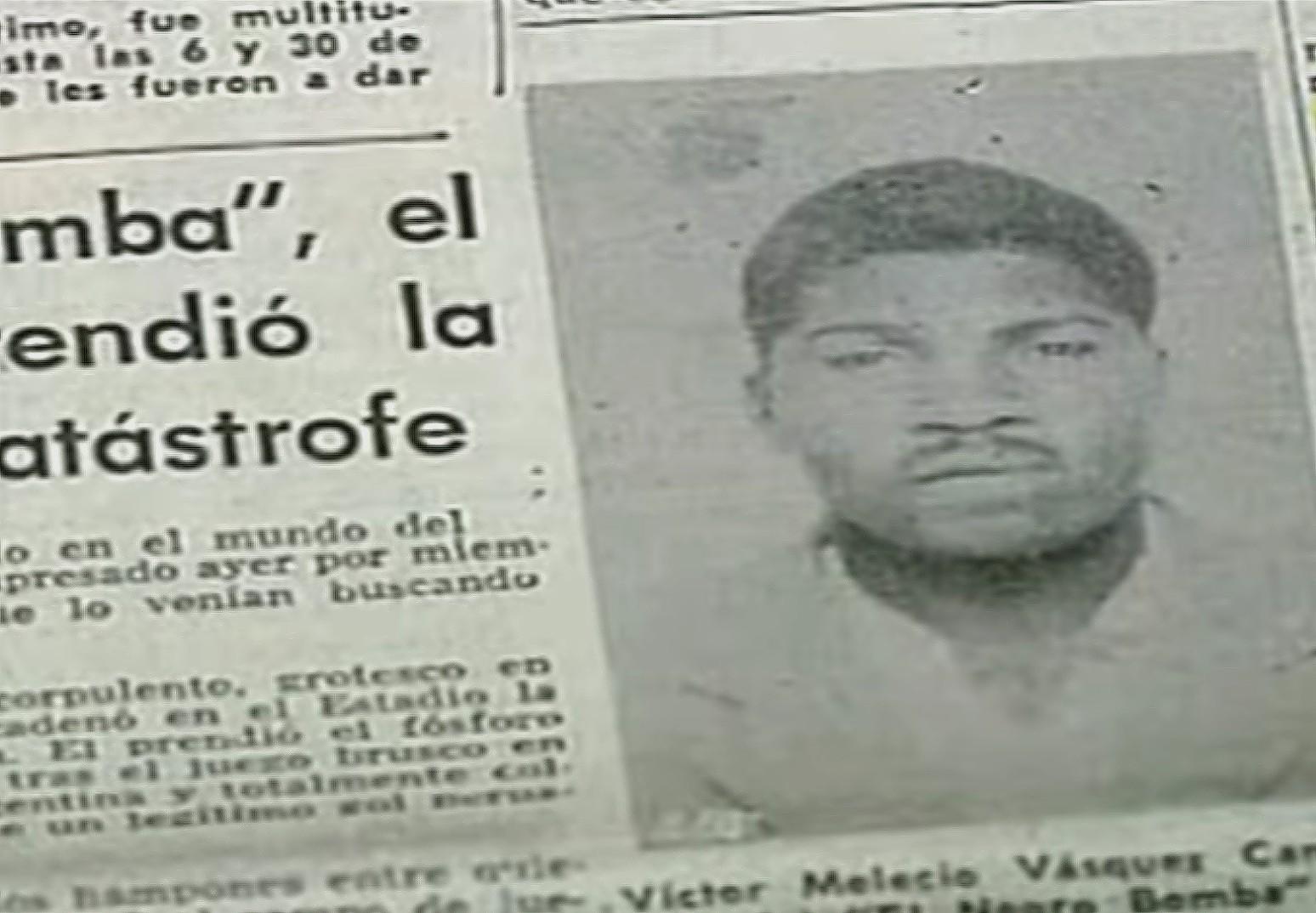 El Legendario Hincha Peruano Víctor Vásquez Campos