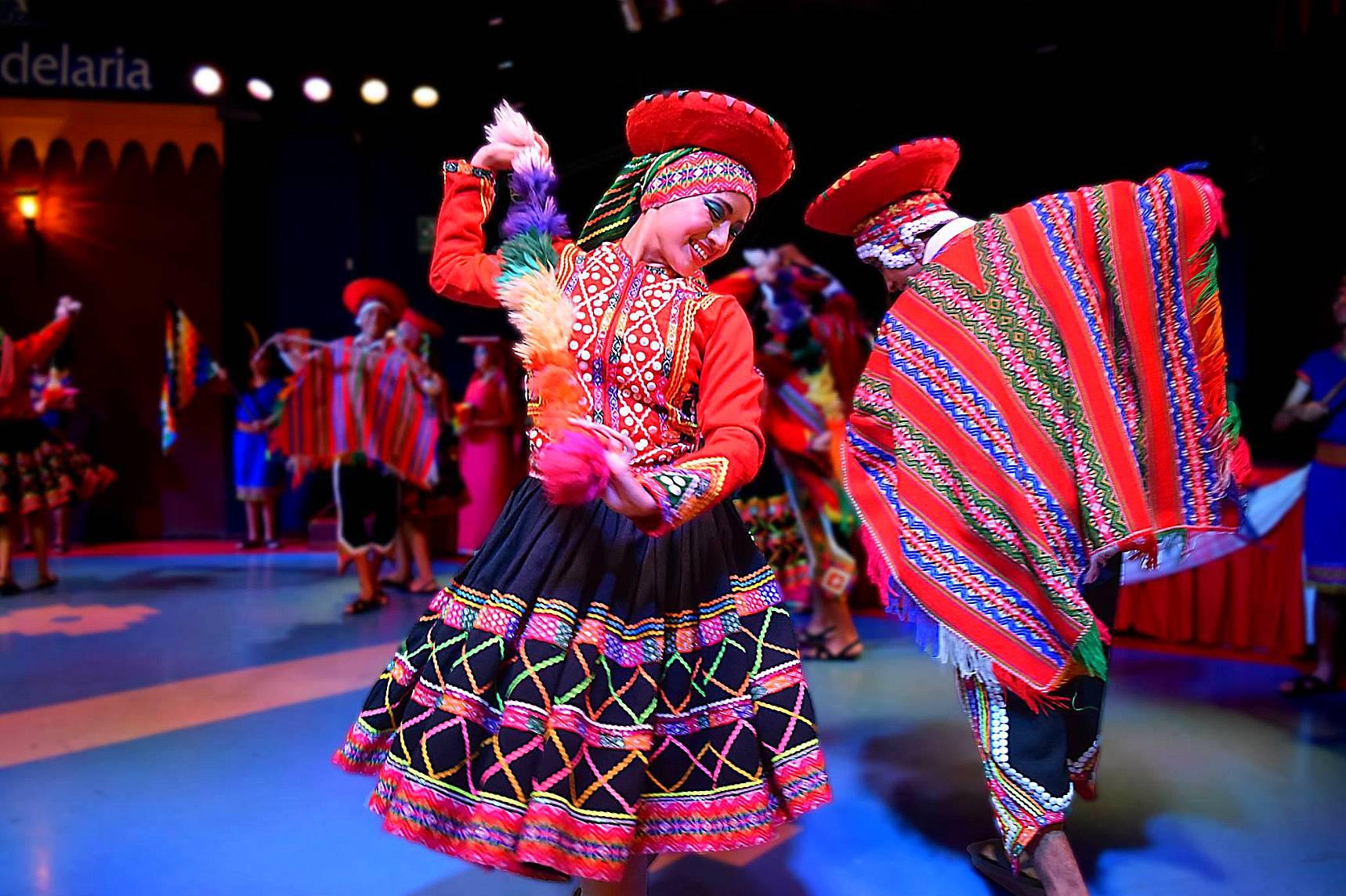Danza: El Huayno